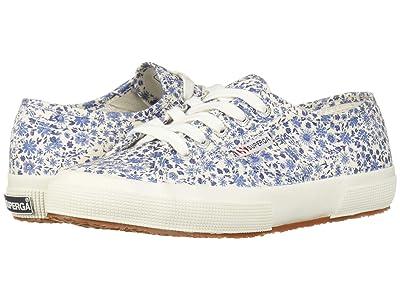 Superga 2750 Printed COTW Sneaker (Floral Patent) Women