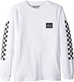 Racer Long Sleeve Tee (Toddler/Little Kids/Big Kids)