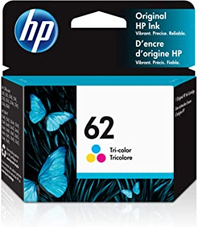 HP 62 | Ink Cartridge | Tri-color | Works with HP ENVY 5500 Series, 5600 Series, 7600 Series, HP OfficeJet 200, 250, 258, ...