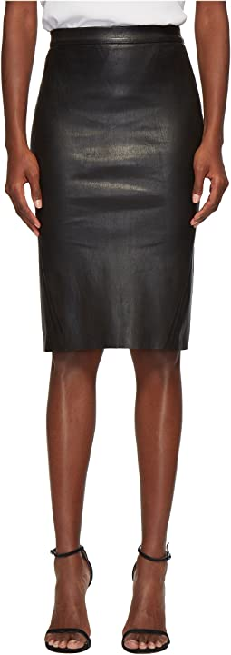 Avana Essential Stretch Leather Tube Skirt