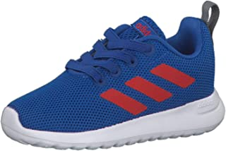 Adidas Lite Racer Cln Mesh-Upper Two-Tone 3-Stripe Low-Top Lace-Up Running Sneakers for Kids