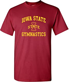 AS1099 - Iowa State Cyclones Arch Logo Gymnastics T Shirt - X-Large - Cardinal