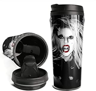 16oz Fashion Modern Classic Travel Mug Born-This-Way-Lady-Gaga- Cute Double Wall Vacuum Insulated Travel Coffee Mug