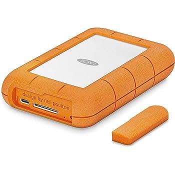 LaCie HDD ポータブルハードディスク 4TB Rugged USB-C RAID Pro 耐衝撃 STGW4000800
