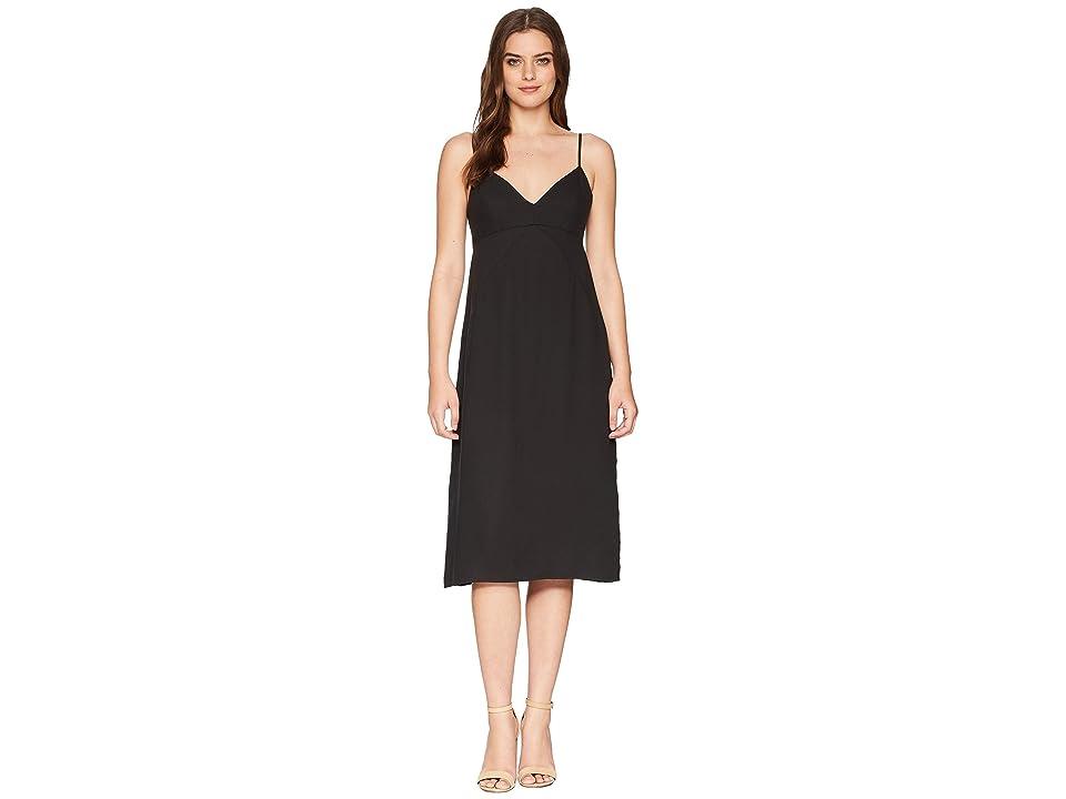 Splendid Double Layer Cami Dress (Black) Women