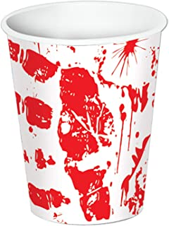 Bloody Handprints Cups