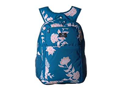 Roxy Here You Are Backpack (Mykonos Blue S Eglantine) Backpack Bags