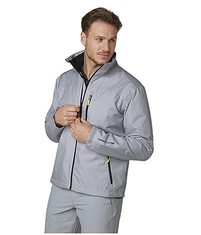 Helly Hansen Crew Midlayer Jacket (Grey Fog) Men