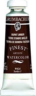 burnt umber watercolor