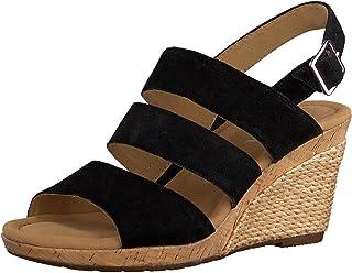 Gabor Shoes Sandales Compensé recouvert Plateau pour Femme Comfort, Confortable en, modèle 42.825