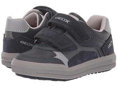 Geox Kids Jr Arzach 17 (Toddler) (Navy/Grey) Boys Shoes