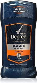 Degree Men Adventure Advanced Protection Antiperspirant Deodorant Stick, 2.7 oz (Pack of 6)