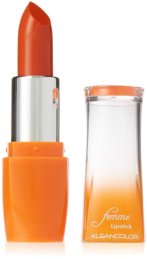 相対サイズ暖かさアシストKLEANCOLOR Femme Lipstick - Lighting Struck (並行輸入品)