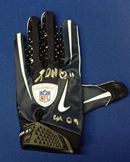 Legedu Naanee Signed Game Worn Glove PSADNA COA #AA54424 - NFL Autographed Game Used Gloves