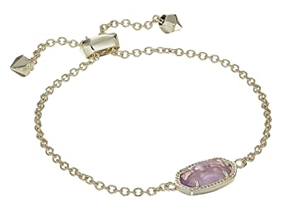 Kendra Scott Elaina Birthstone Bracelet (February/Gold/Amethyst Quartz) Bracelet