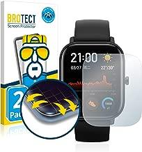 brotect Protector Pantalla Completa Compatible con Huami Amazfit GTS (2 Unidades) 3D Curvo
