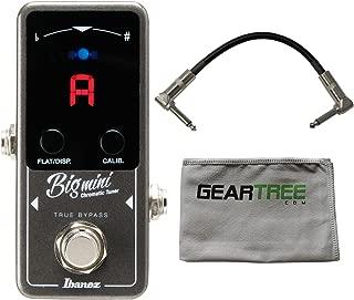 Ibanez BIGMINI Mini Chromatic Tuner Pedal w/Cloth and Cable