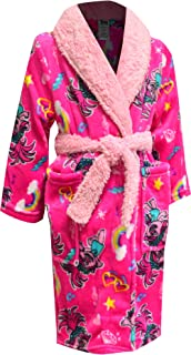 AME Sleepwear Girls' Trolls Movie Princess Poppy Fleece Robe