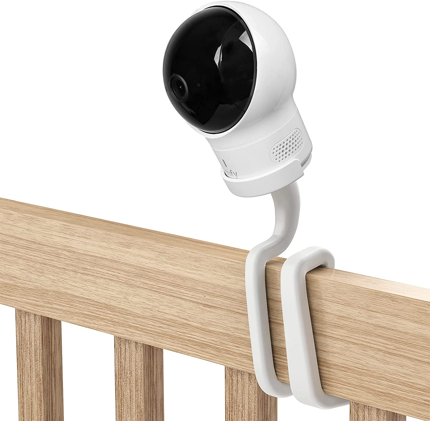 VOMENC Baby Monitor Mount, Compatible with Eufy Spaceview /Spaceview Pro / Spaceview S Baby Monitor-Suitable for Eufy Baby Monitor Mounting Bracket