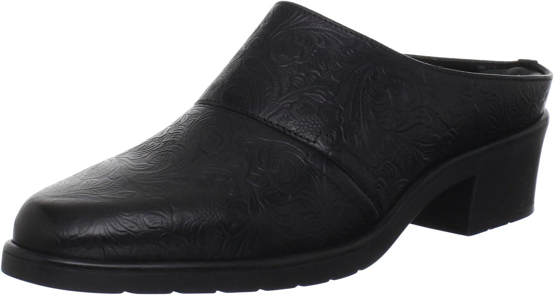 Walking Cradles Damen Caden, schwarzes Leder, Leder, 38.5 EU  Schlussverkauf