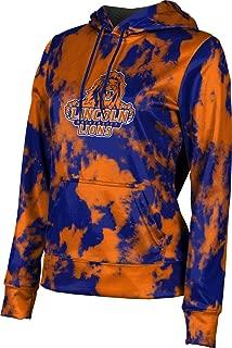 Lincoln University (PA) Women's Pullover Hoodie, School Spirit Sweatshirt (Grunge)