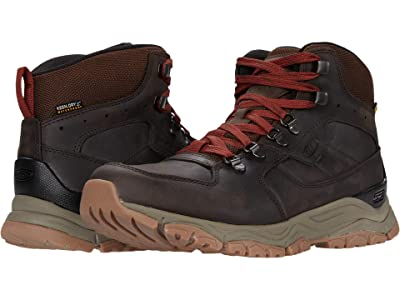 KEEN Innate Leather Mid Waterproof (Chestnut/Fired Brick) Men