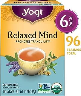 yogi tea relaxed mind