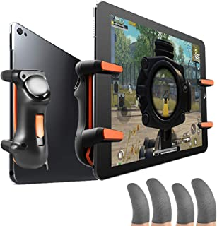 Kaigital Mobile Game PUBG Controller Set for PUBG Trigger Aim Button L1R1 Fast Shooter Joystick for iPhone Android and 6pc...