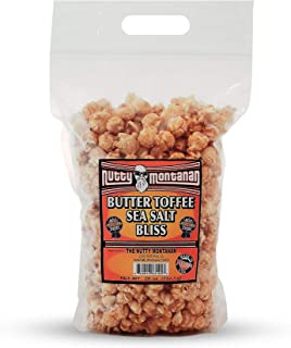 Original Butter Toffee Sea Salt Bliss Gourmet Flavored Popped Corn Caramel Popcorn Pack with Resealable Flat Bottom Handle Bag (26 oz)