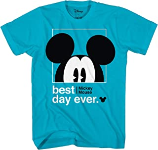 Disney Mickey Mouse Best Day Ever Toddler Youth Juvy Kids T-Shirt