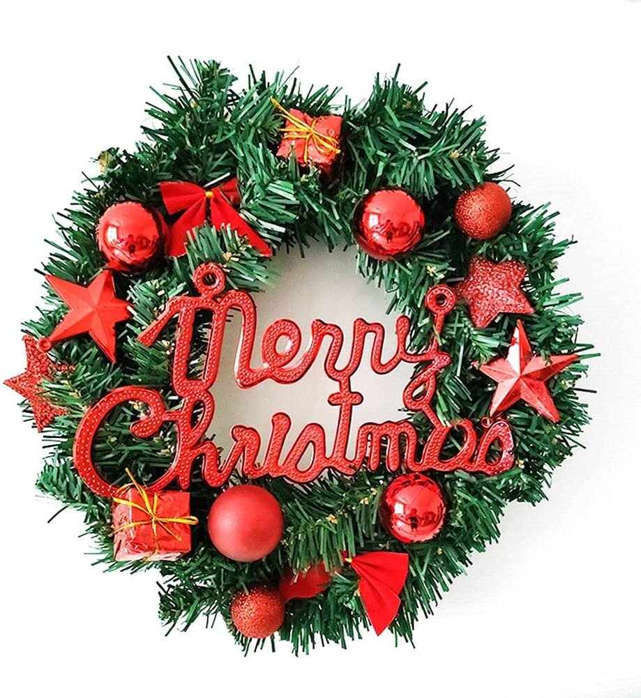 Popular popular Christmas Wreath Swags Bombing free shipping Garland for Artificial Christ Door Front