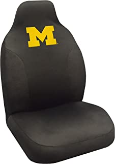 """FANMATS NCAA University of Michigan Wolverines Polyester Seat Cover,Regular,20""""x48"""""""