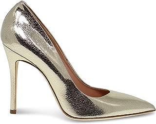 SERGIO LEVANTESI Luxury Fashion Womens LEYLAGOLD Gold Pumps | Fall Winter 19