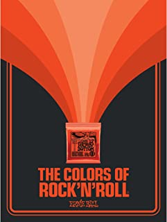 The Colors of RockNRoll Skinny Top Heavy Bottom Slinky Poster