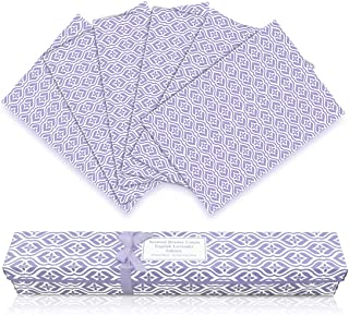 LA BELLEFÉE Scented Drawer Liners, 6-Sheets Scent Paper Liner (English Lavender)