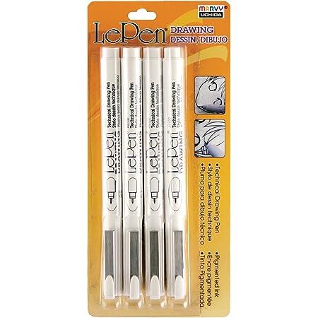 Drawing Pen Set Art Supplies Black