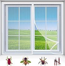 Vliegscherm Mosquito Magnetisch Raamscherm, Mesh Venstergordijnen Netto Fly Mosquito Insecten Scherm, Wit-1, 95X180CM