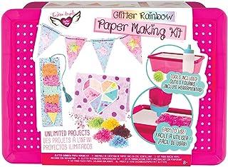 Fashion Angels Glitter Rainbow Paper Making Kit, Assorted