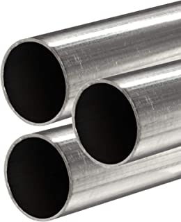 Online Metal Supply 304 Stainless Steel Round Tube, 1/2