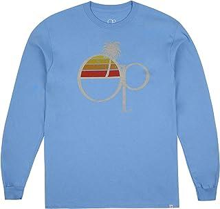 Ocean Pacific Fade Core Logo Long Sleeve Top T-Shirt Uomo