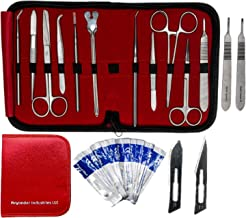 Dissection Kit 22 Pieces – Frog Dissection Kit, Pig Dissection Kit, for All Anatomy and Biology Medical Students by Beyonder Industries LLC (Red)