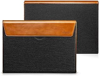 tomtoc 15インチ インナーケース ボックス 15インチ New MacBook Pro Touch Bar搭載 Late 2016-2018 (A1990 A1707) 対応、 ノートパソコン スリーブ プロテクター、 グレー & オレンジ