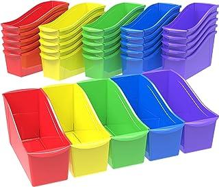 Storex Binder Spine23 30 Bins Assorted Colors