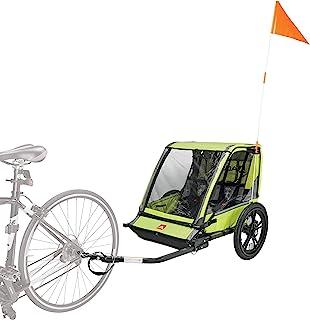 Allen Sports Hi-Viz 2-Child Bicycle Trailer, Model ET2