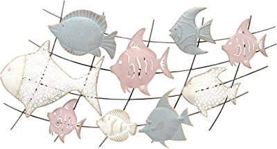 Whimsical Fish Water Ocean See Fish Custom Choose Your Size Laser Cut Wooden Art Craft Supplies Wall Hanging Decor Wedding Nursery DCS0497
