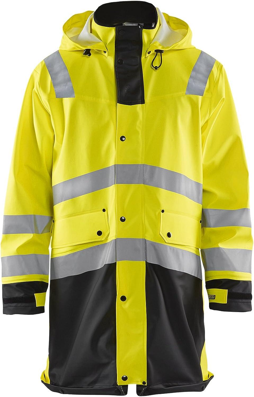 Workwear Bundle: Blaklader Hi-Vis Rain Coat & Hammer Hook