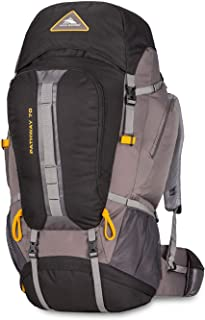 High Sierra Pathway Internal Frame Hiking Backpack 70L - Internal Frame Backpack with Hydration Port - Compatible with 3-Liter Hydration Reservoir - for Hiking, Camping, or Trekking Adventure