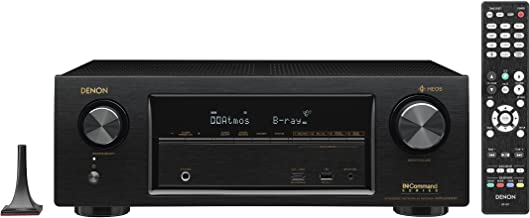 Denon Audio & Video Component Receiver Black (AVRX1400H)