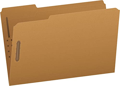 barato en alta calidad Kraft Two-Fastener Classification Folders with 1 3 Cut Tabs, Tabs, Tabs, Legal, 50 Box  saludable