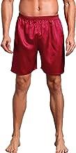 Admireme Men's Satin Boxers Shorts Silk Pajamas Shorts Boxer Sleep Work Travel Underwear M-3XL
